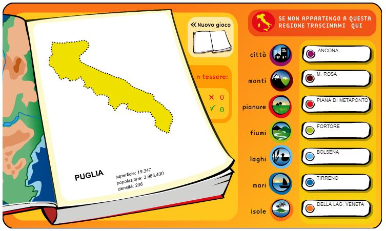 abbastanza Attività interattive di geografia per la scuola primaria e media OA94
